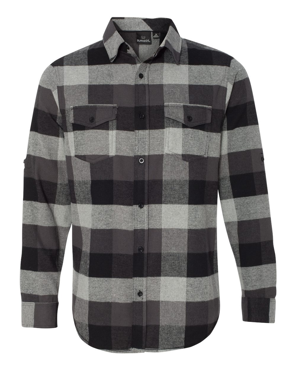 Picture of Burnside Yarn-Dyed Long Sleeve Flannel Shirt