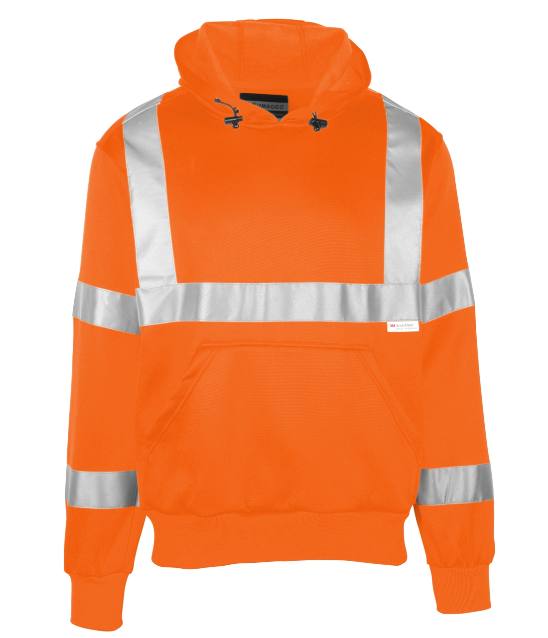 Picture of Sumaggo High Visibility (Hv) Polyester Fleece Hooded Pullover