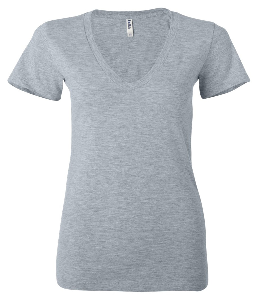 Picture of Bella Canvas Ladies Jersey Deep V-Neck T-Shirt