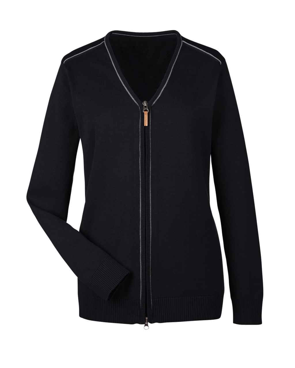 Picture of Ladies' Manchester Fully-Fashioned Full-Zip Sweater