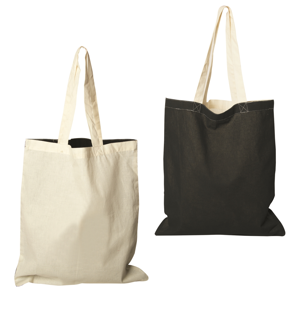 Picture of Two-Tone Econo Cotton Tote