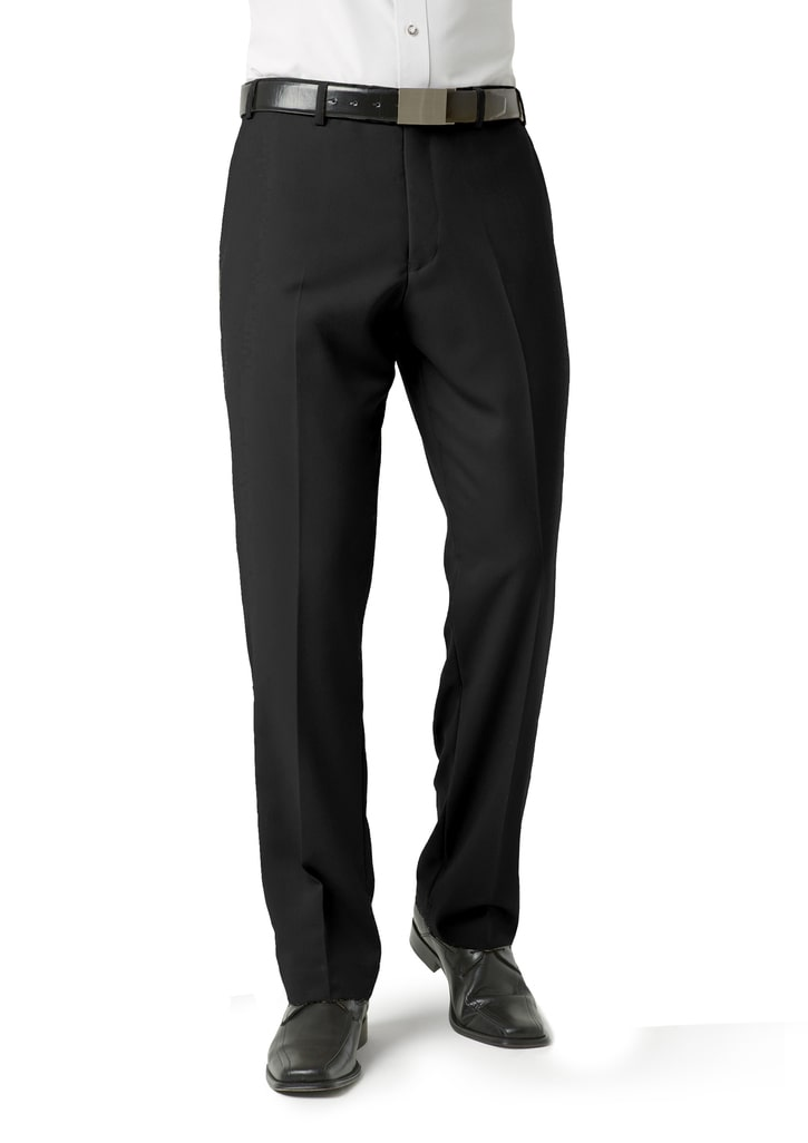 Picture of Biz Collection Mens Flat Front Pant