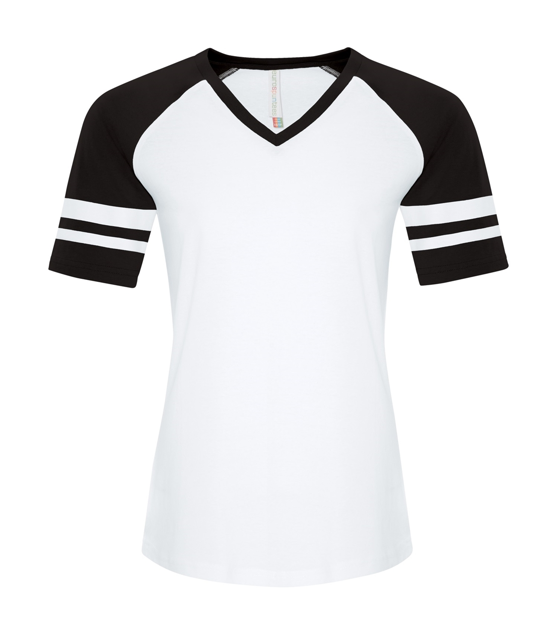 Picture of ATC Ring Spun Ladies' Baseball Tee