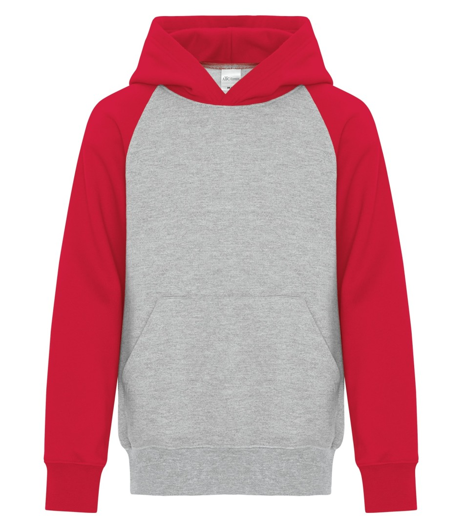 Picture of ATC Everyday Fleece Two Toned Hooded Youth Sweater