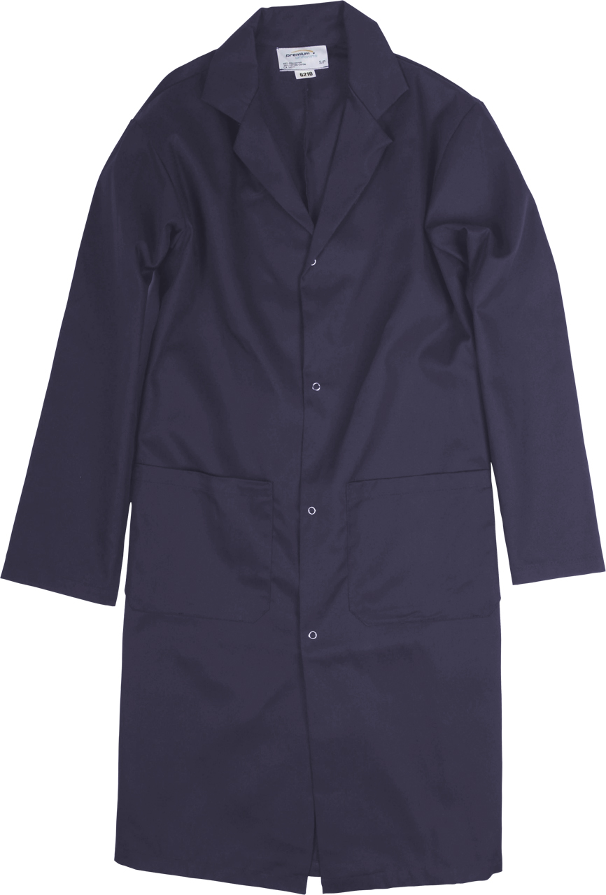 Picture of Premium Uniforms Two-Pocket Long Coat With Snaps