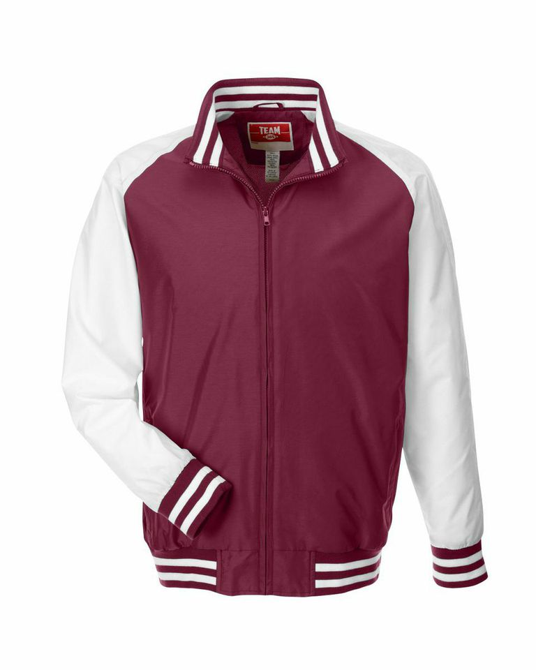 Picture of Team 365 Men Varsity Jacket