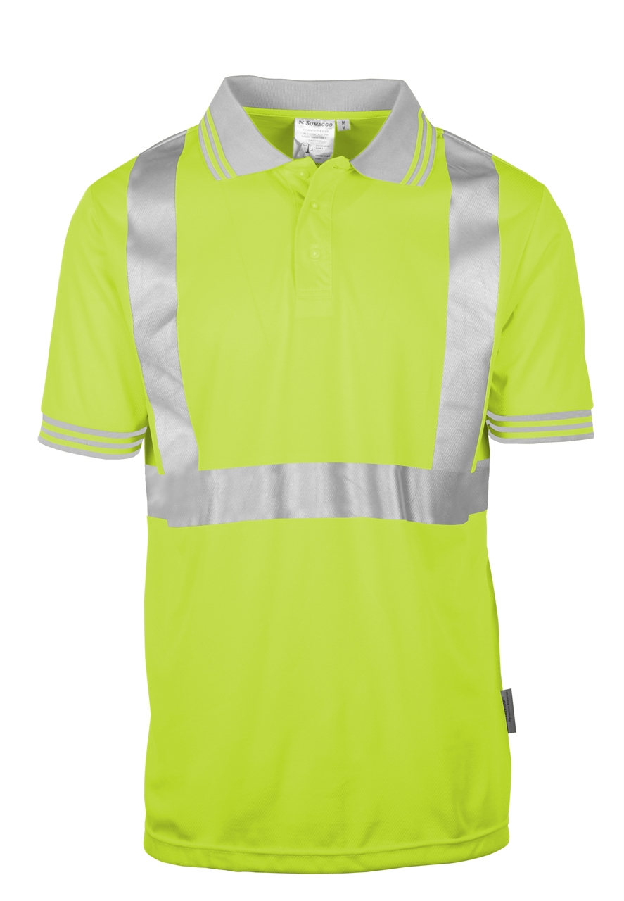 Picture of Sumaggo High Visibility Wicking Polo Shirt
