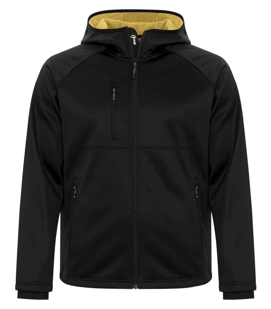 Picture of Dryframe Bonded Fleece Full-Zip Hooded Jacket