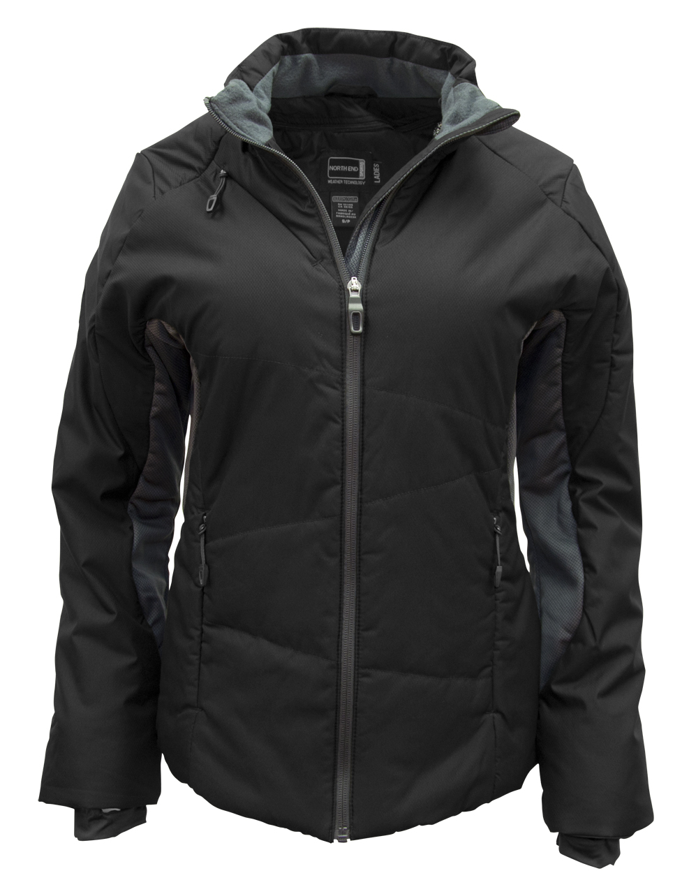 Picture of North End Immerge Ladies Insulated Hybrid Jacket