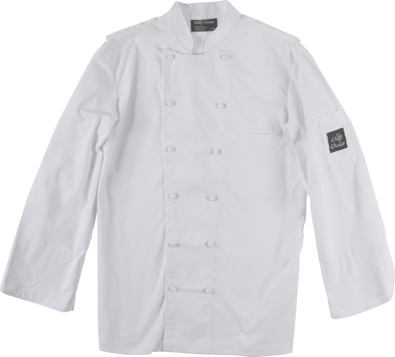 Picture of Premium Uniforms Chef Coat With Mesh
