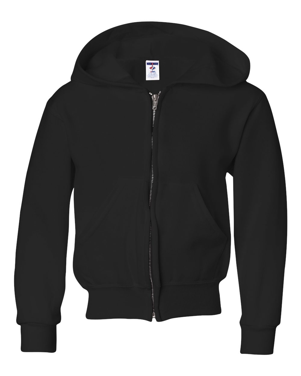 Picture of Jerzees Nublend Youth Full-Zip Hooded Sweatshirt