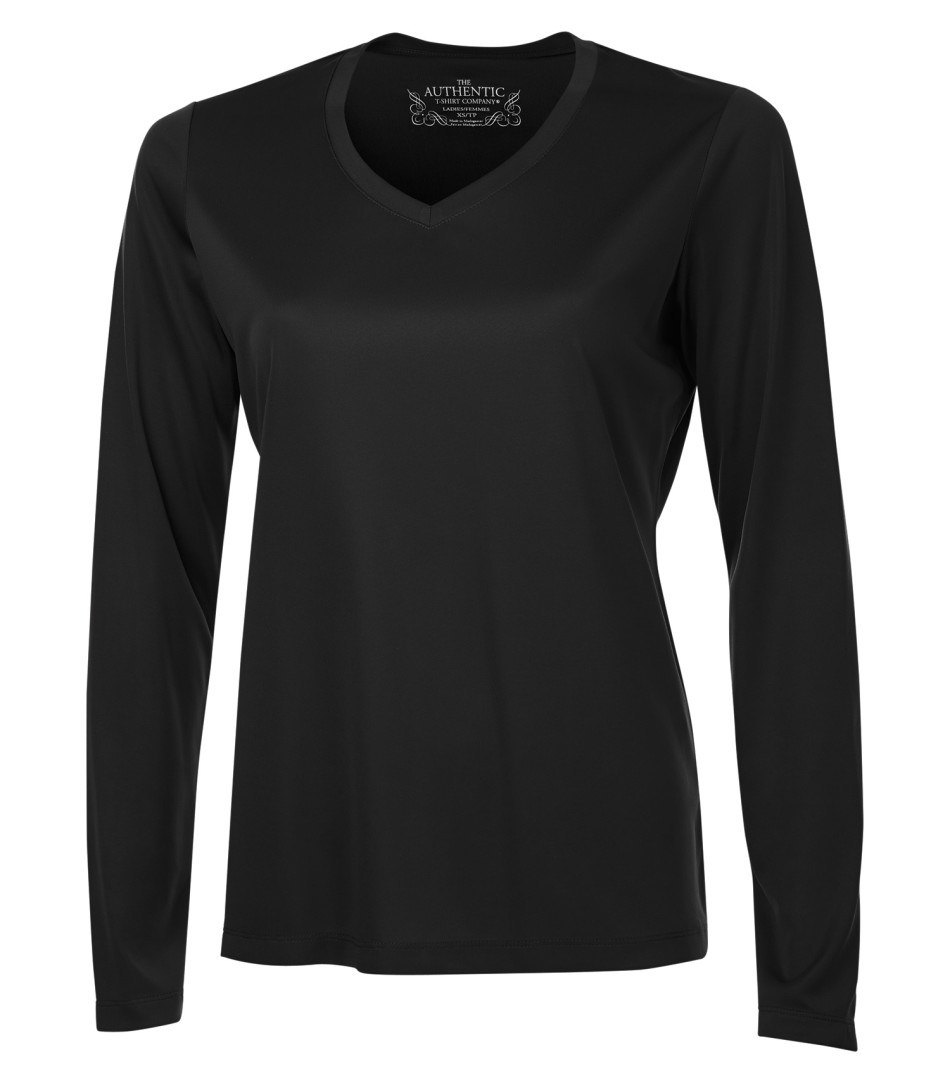 Picture of ATC PRO Team V-Neck Long Sleeve Ladies' Tee