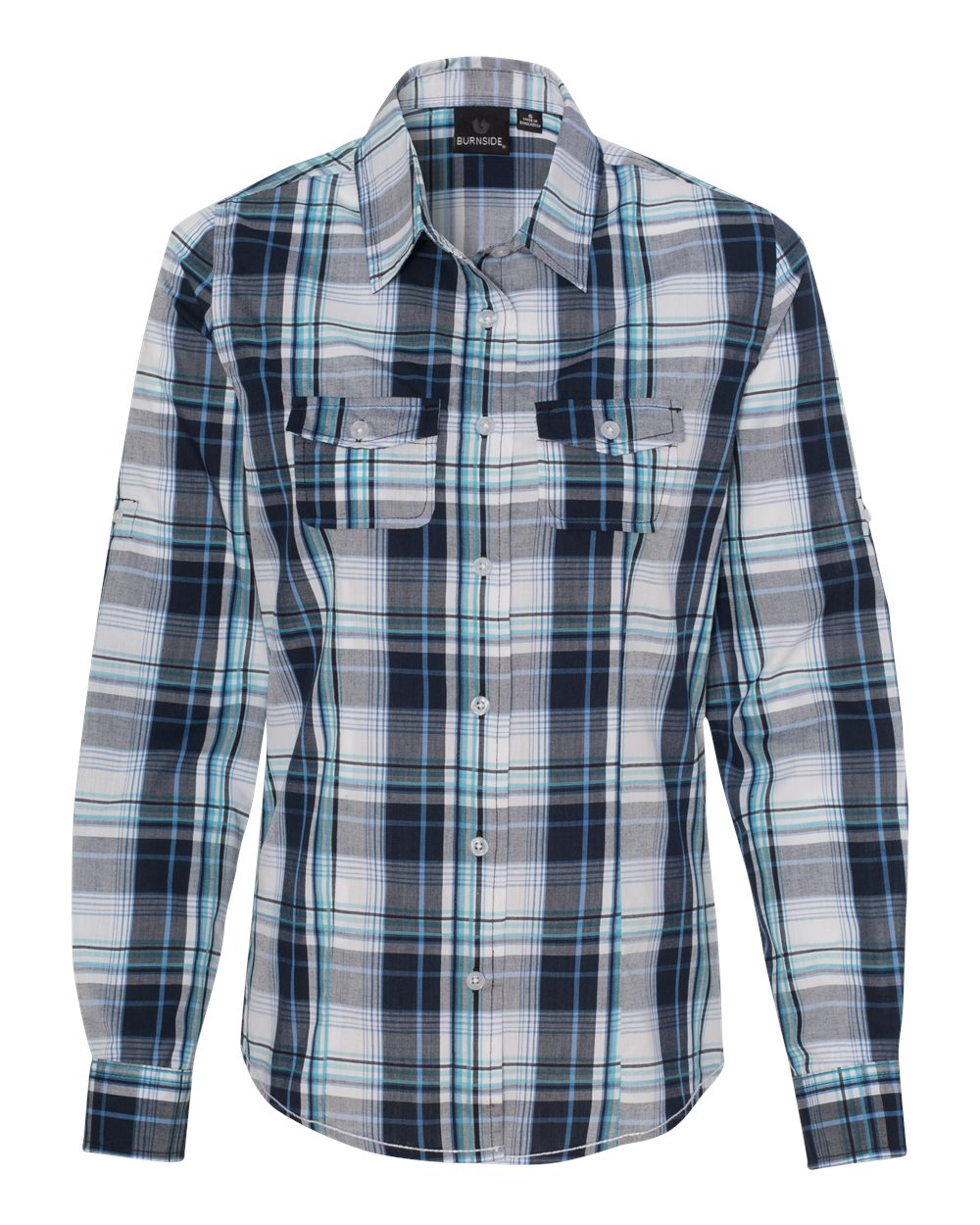 Picture of Burnside Women's Long Sleeve Plaid Shirt