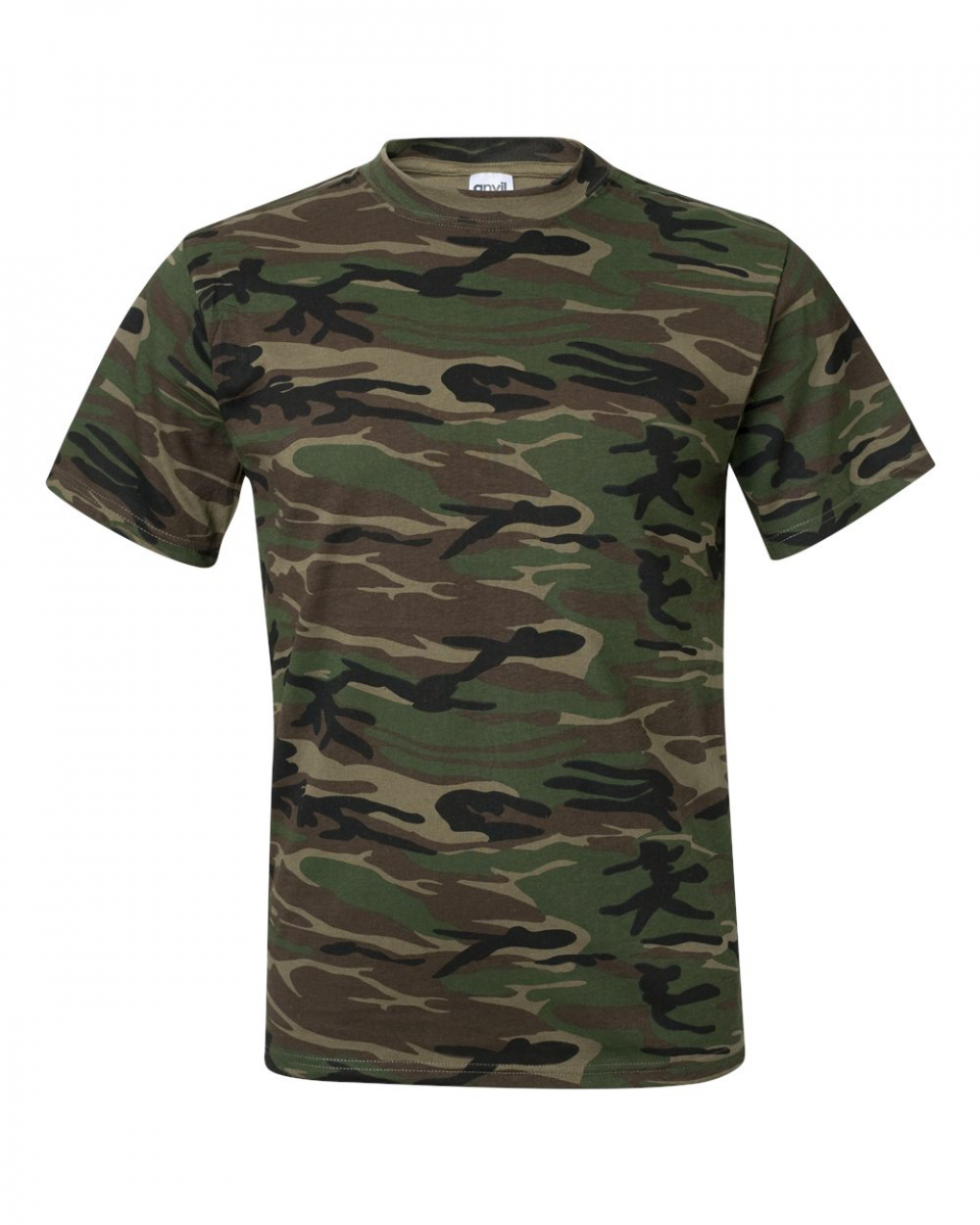 Picture of Anvil Camouflage Tee