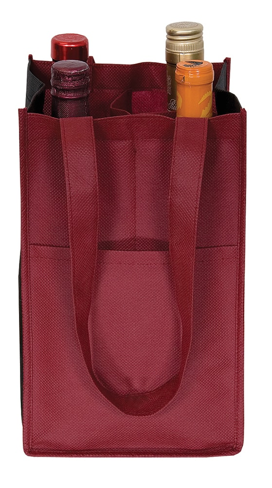 Picture of Non Woven Four Bottle Wine Bag