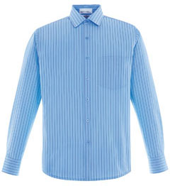 Picture of North End Men's Align Wrinkle-Resistant Striped Shirt